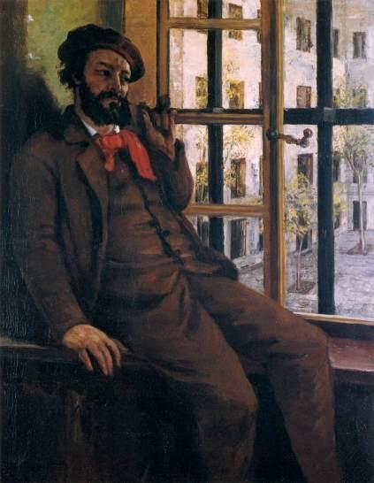 Self-portrait at the Sainte-Pelagie Prison.