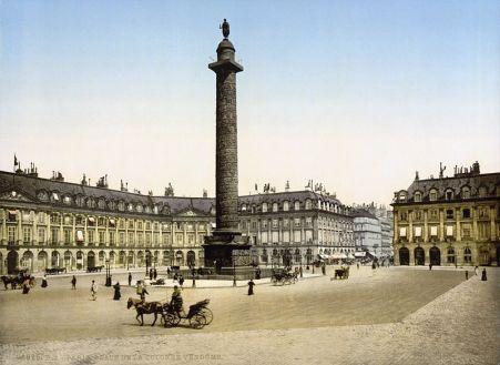 Vendome Column, c. 1890-1900.