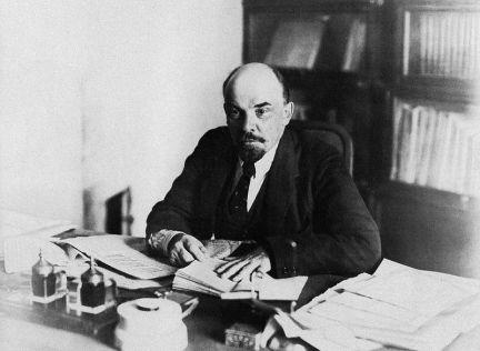 Vladimir Lenin, 1918