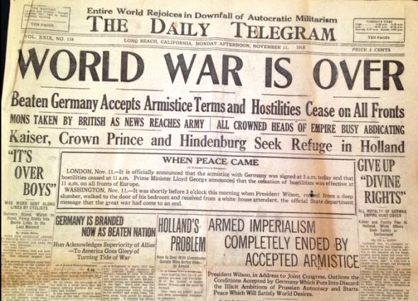 World War is Over