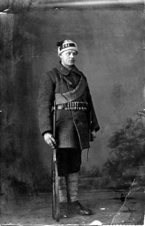 Johannes Petterson, Red Guard.