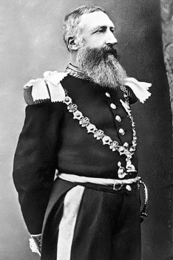 King Leopold of Belgium.