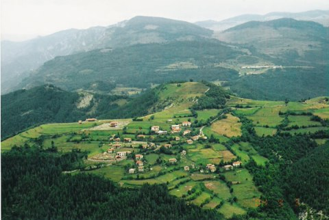 The Rhodope Mountains defined a border of Eastern Rumelia.