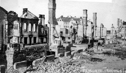 Tampere after the battle.