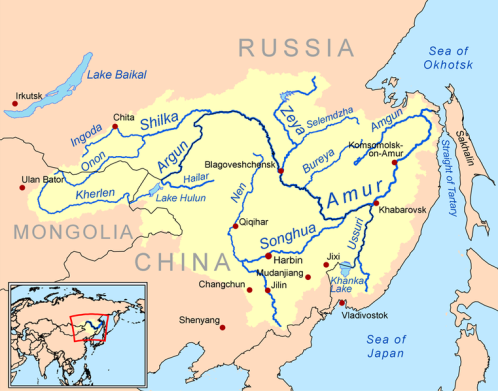 The Amur River region.