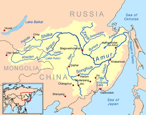 The Amur River region.