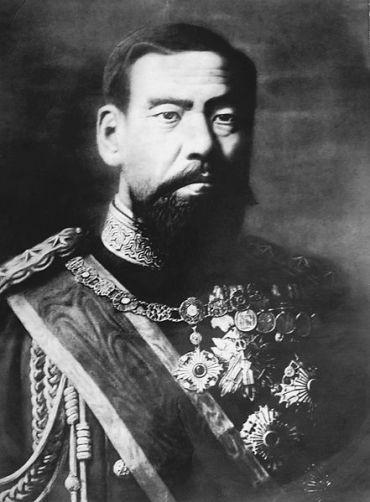 Emperor Meiji of Japan.