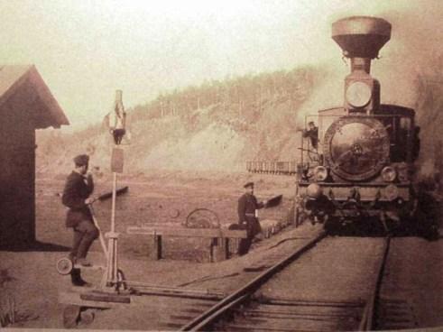Khilok station, Chita oblast, 1903.
