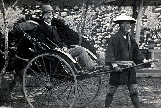 Prince Nikolas in Nagasaki, 1891.