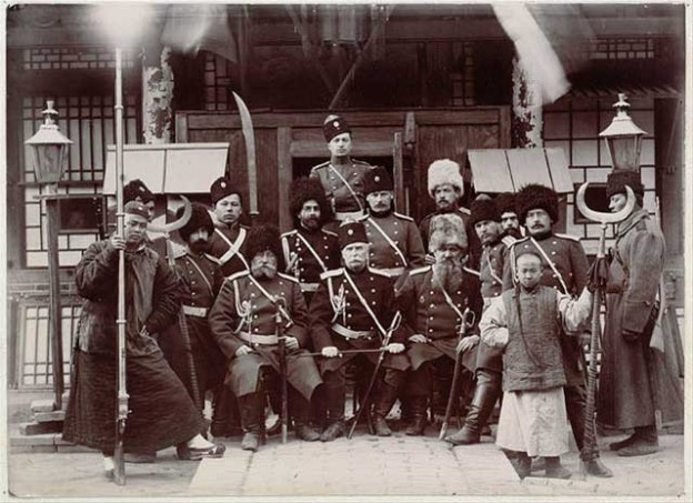 Russian soldiers during the Boxer Rebellion.