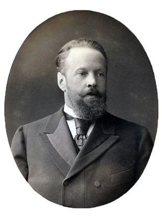 Count Sergei Witte, former Russian finance minister, 1905.