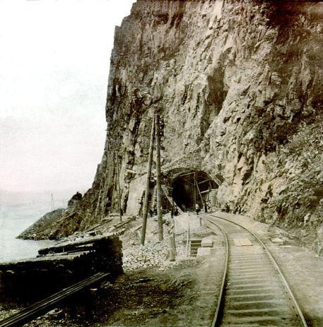 Tunnel on Circum-Baikal line.