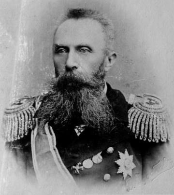 Admiral Oskar Viktorovich Stark (1846-1928).