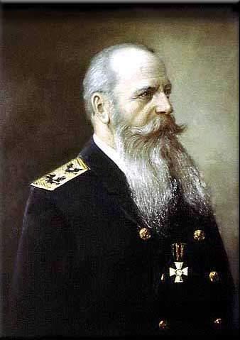 Admiral Stepan Makarov (1849-1904).