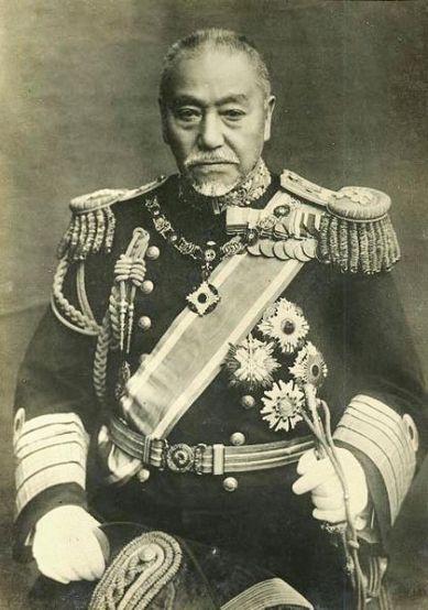 Admiral Togo Heihachiro (1848-1934).