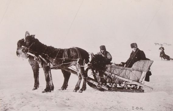 Lake Baikal transport. Photo courtesy of Tyne and Wear Archives and Museums.