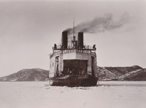 SS Baikal, the larger of the two ferries. Photo courtesy of Tyne and Wear Archives and Museums.