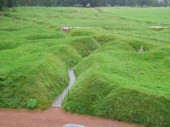 The Beaumont Hamel site as it looks today.
