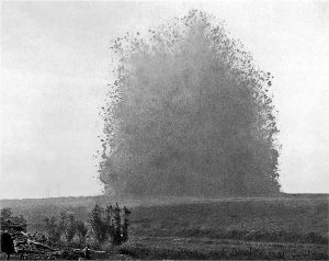 Explosion of Hawthorn Ridge mine.