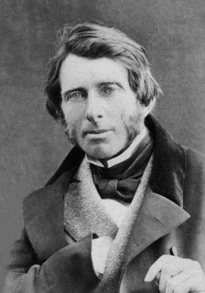 John Ruskin in 1863.
