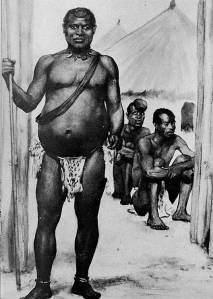 King Lobengula of the Matabele.