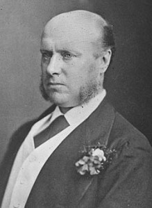 Sir Hercules Robinson, British High Commissioner for Southern Africa.