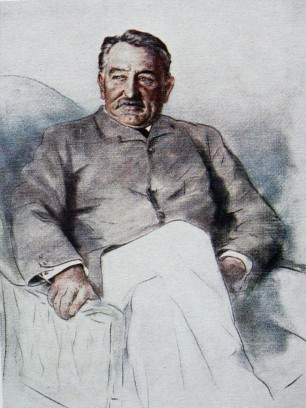 Cecil John Rhodes (sketch by Mortimer Menpes).