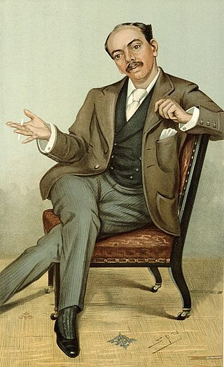 Cariacature of Dr. Leander Starr Jameson (Vanity Fair, 1896).