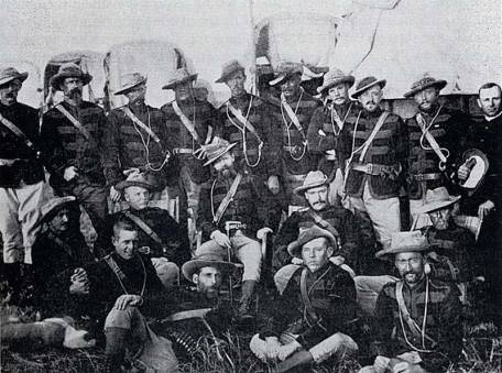 Officers of the Pioneer Corps.