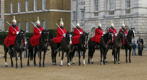 Royal Horse Guards in the present day.