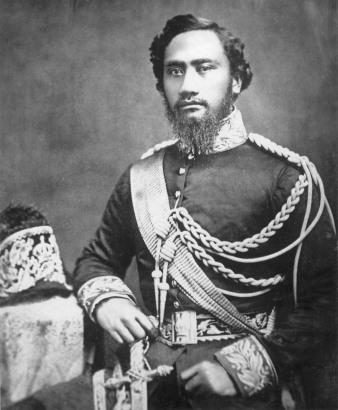 King Kamehameha IV.