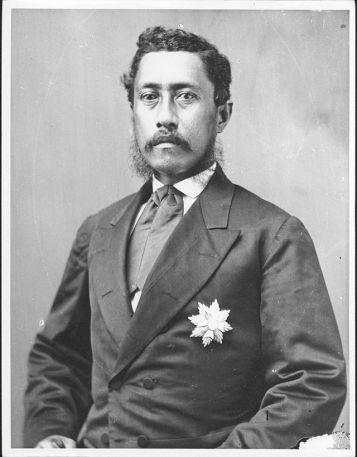 William Charles Lunalilo, 1835-1874.