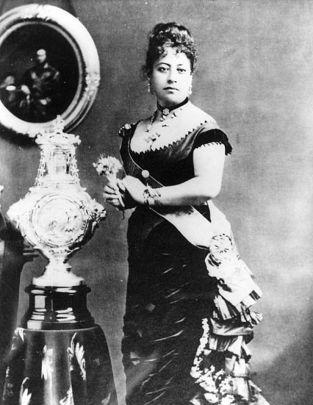 Queen Emma, the opponent of David Kalakaua.