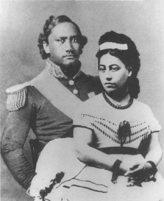 Queen Emma and Kamehameha IV.