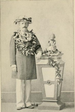 William Armstrong, after a dinner given by Kalakaua.