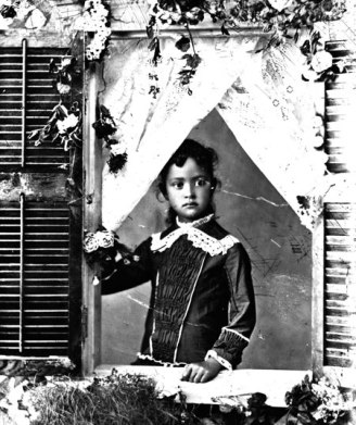 Princess Ka'iulani as a girl.