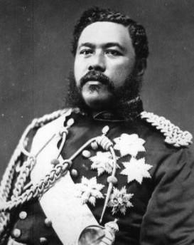 King Kalakaua.