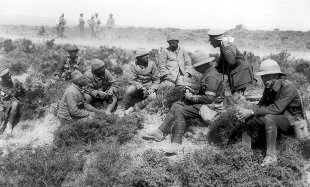 Interrogation of Turkish prisoners, 3rd Battle of Krithia.