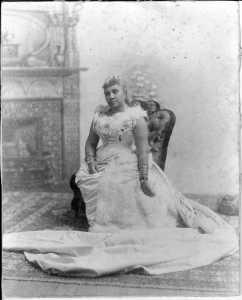 Lili'uokalani in 1891.