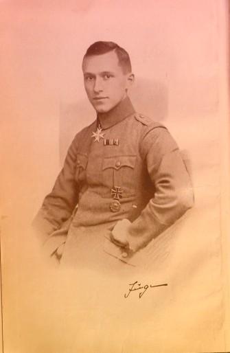 Ernst Juenger after WWI