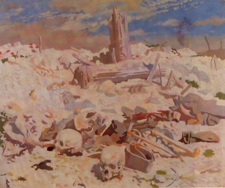 """Thiepval,"" by William Orpen."