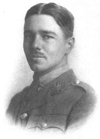 Wilfred Owen. Born March 18, 1893. Died November 4, 1918.