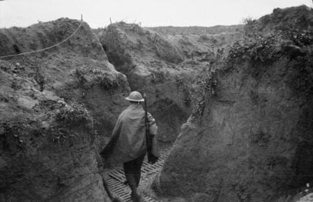 Moving up for the Mametz attack. From the Knatchbull Collection. Jones fought at Mametz.