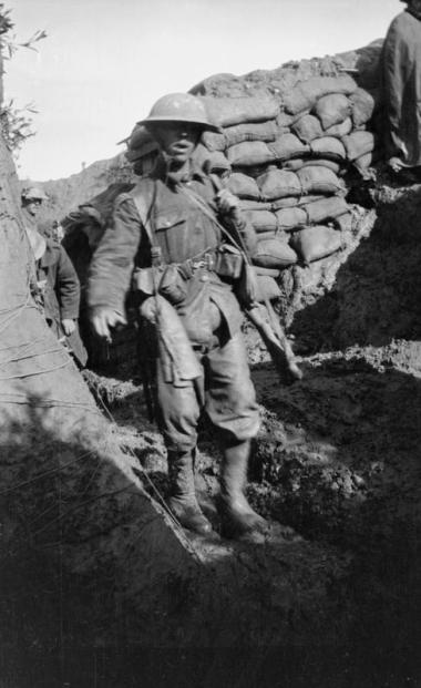 Slightly wounded at Mametz (Knatchbull Collection).