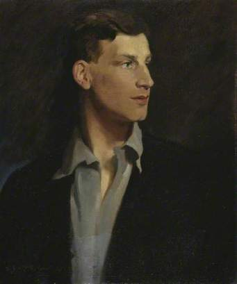 Portrait of Siegfried Sassoon by Glyn Warren Philpot, 1917.